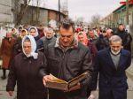 Religiöse Zeremonie zur Wassersegnung (Ramin Mazur)